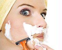 Как быть с волосами на лице у женщин