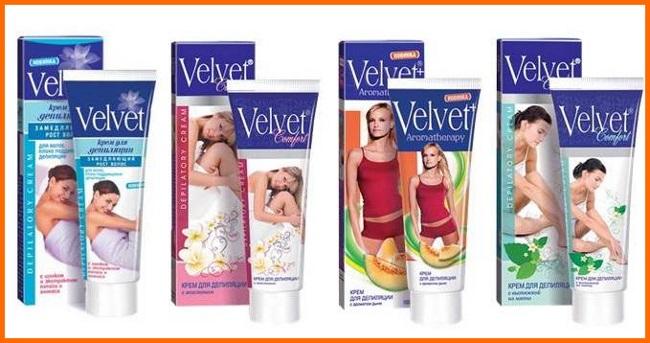 Velvet депилятор для интимных зон