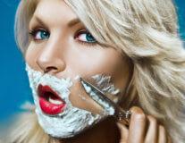 как удалить волосы на лице