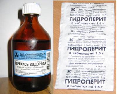 осветление гидроперитом
