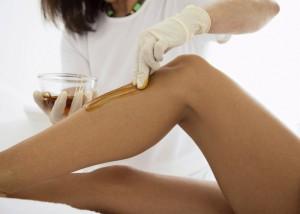 Как снять воск после депиляции с кожи