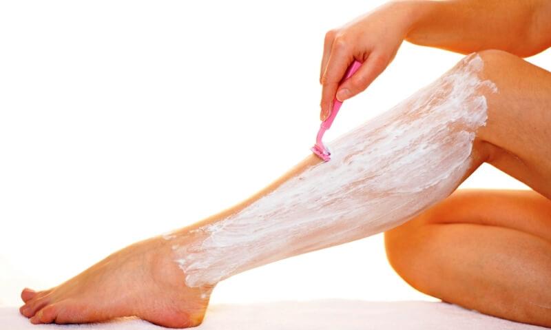раздражение на ногах после бритья