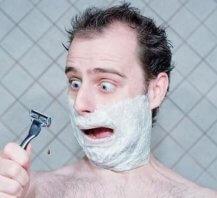 Мужское бритье