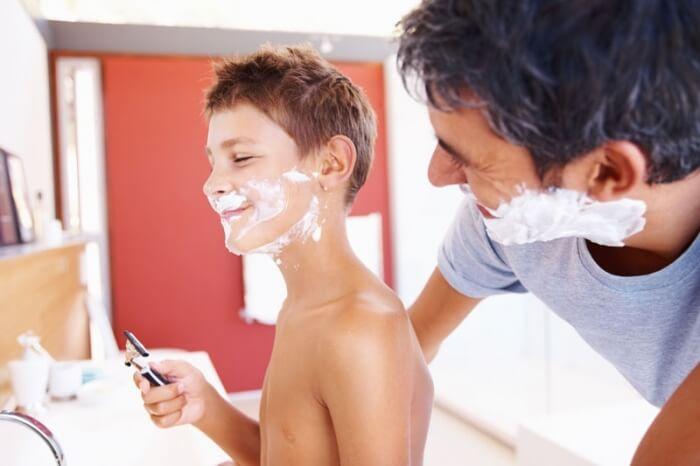 в 14 лет можно ли брить усы