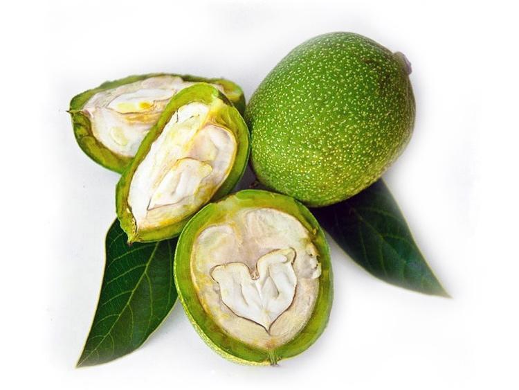 зеленый орех от волос